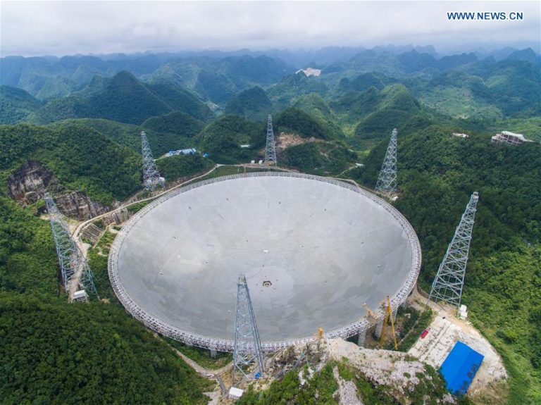 China's FAST telescope